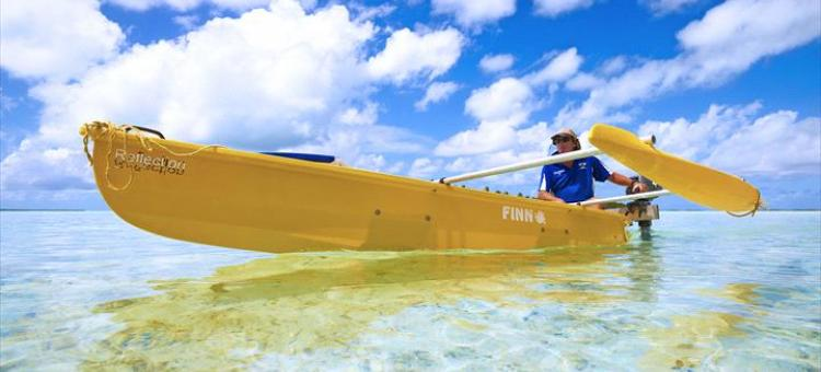 Cocos Islands Adventure Tours, Cocos Keeling Islands, canoe safari